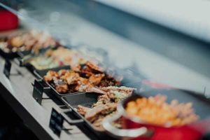 hot buffet catering services