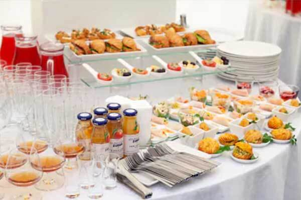 Cold Buffet Wedding Catering