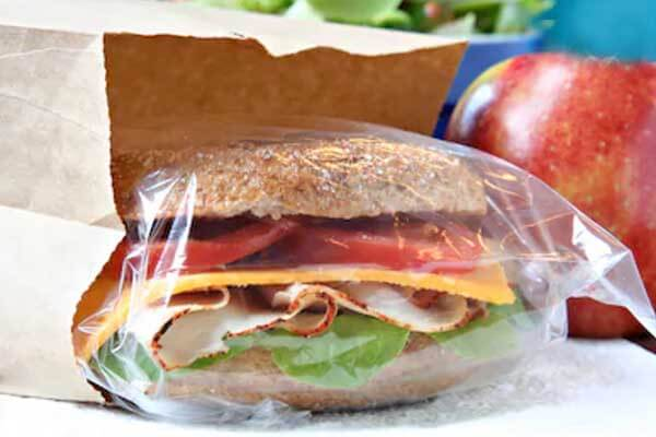 Breakfast Catering Lunch Bag
