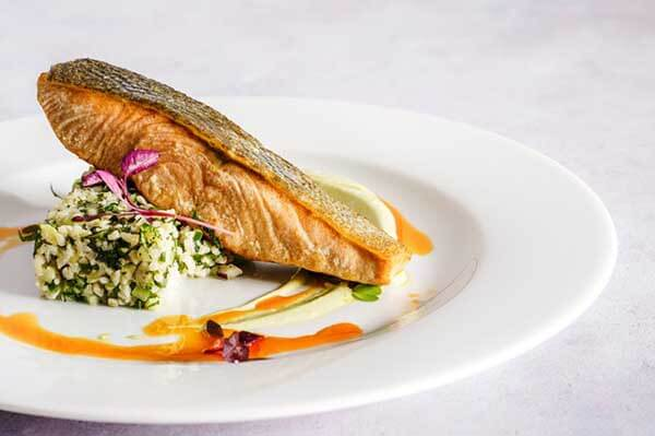 Salmon Fine Dining Catering Services