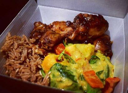 Mydine Meal Prep Catering Company Food